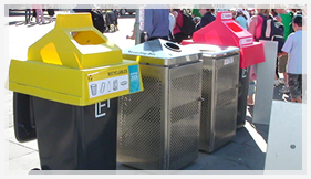 Bins at Games