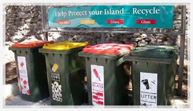 Rottnest Is bins
